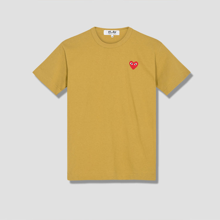 PLAY T-SHIRT RED HEART P1T212 Olive