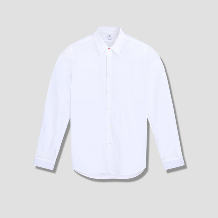 MENS SHIRT TAILORED LS M2R-610P-D20040 White