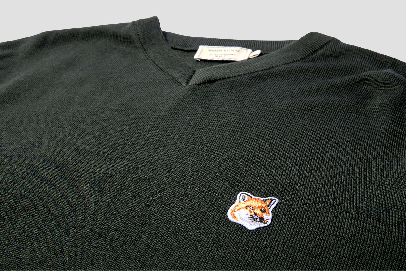 FOX HEAD PATCH V NECK DM00520KT1020 Green