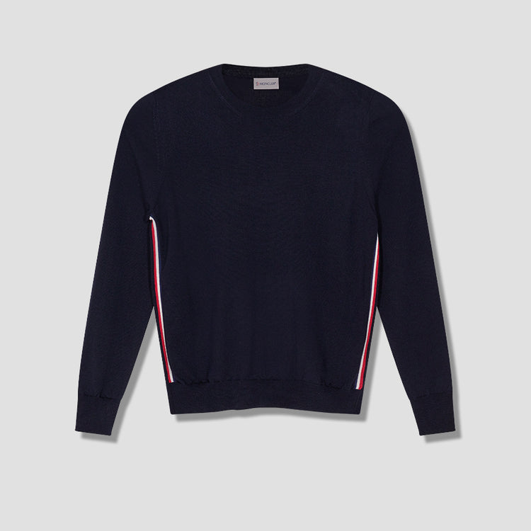 ROUND NECK JUMPER 091-90468-00-A9227 Navy