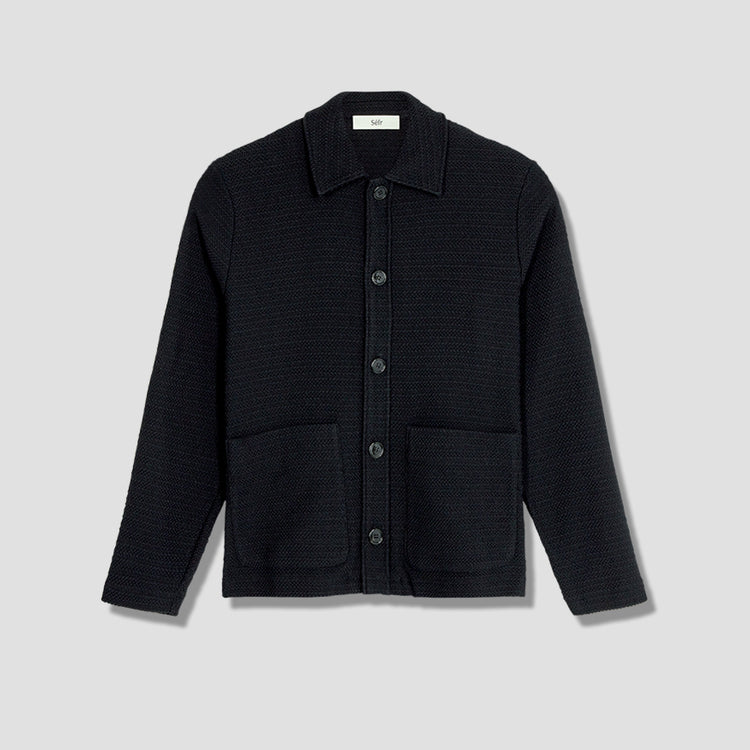 NICO OVERSHIRT Black