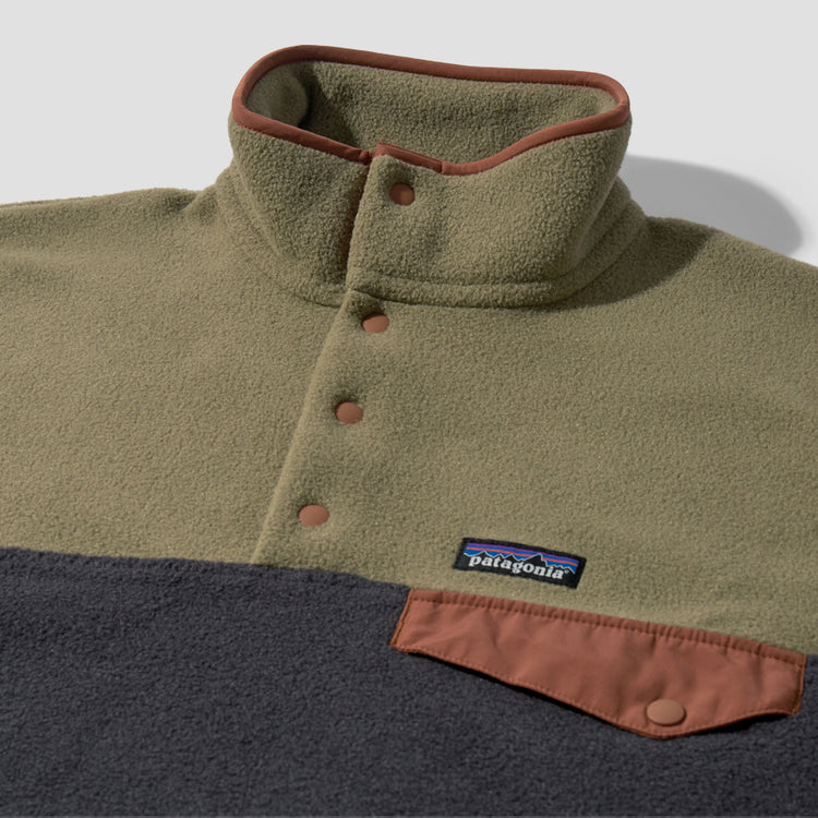 LIGHTWEIGHT SYNCHILLA SNAP-T PULLOVER 25550 Olive