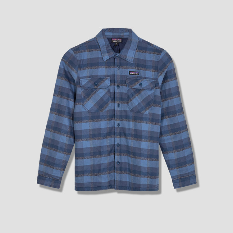 INSULATED FJORD FLANNEL JACKET 27640 Blue