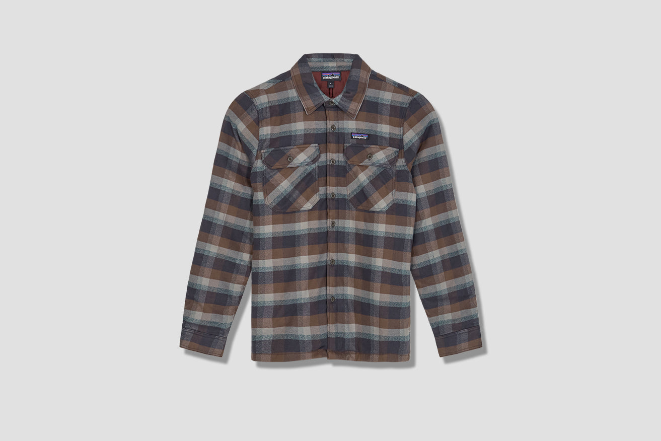 INSULATED FJORD FLANNEL JACKET 27640 Brown