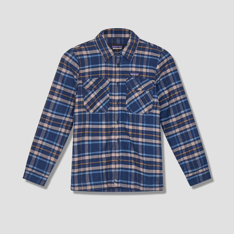 INSULATED FJORD FLANNEL JACKET 27640 Navy