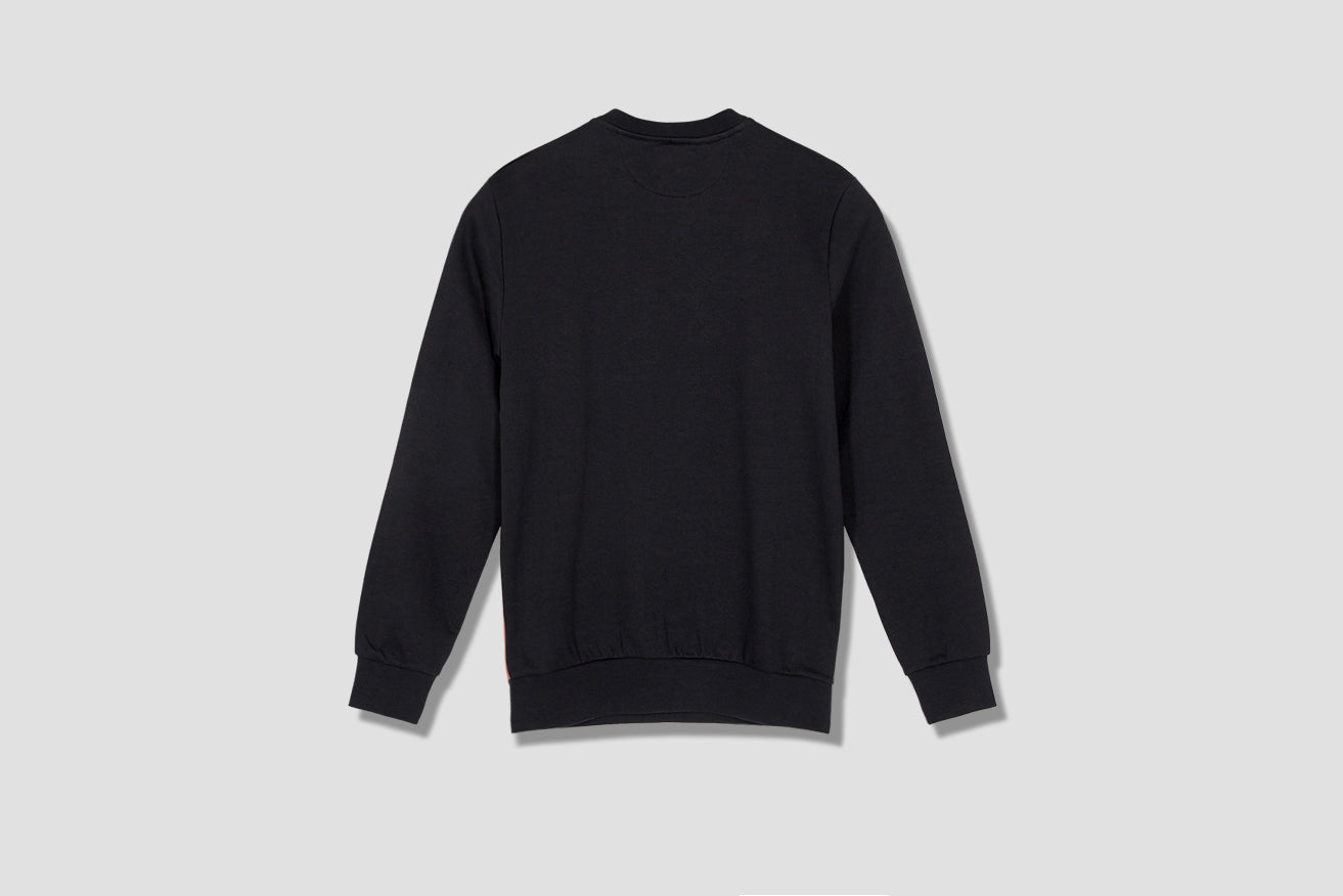 GENTS TAPED SEAM SWEATSHIRT M1R-302SS-C00347 Black