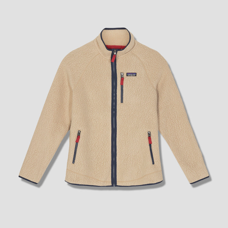 RETRO PILE FLEECE JACKET 22801 Khaki
