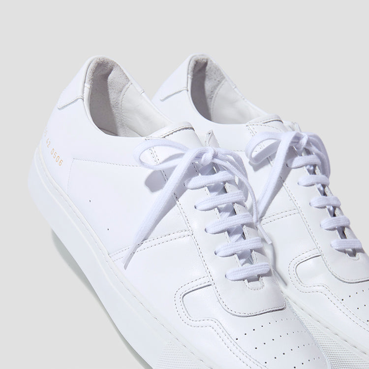BBALL LOW IN LEATHER 2155 0506 White