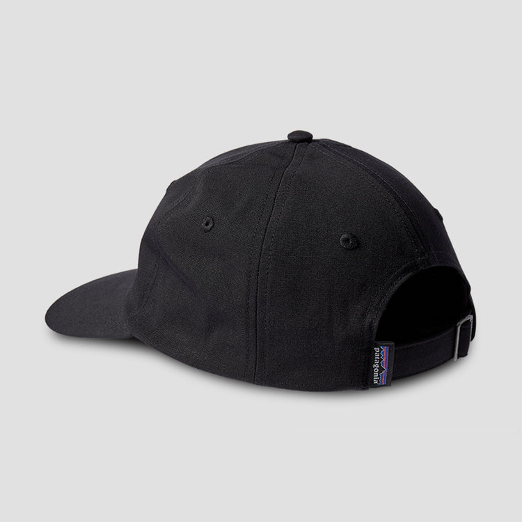 P-6 LABEL TRAD CAP 38207 Black