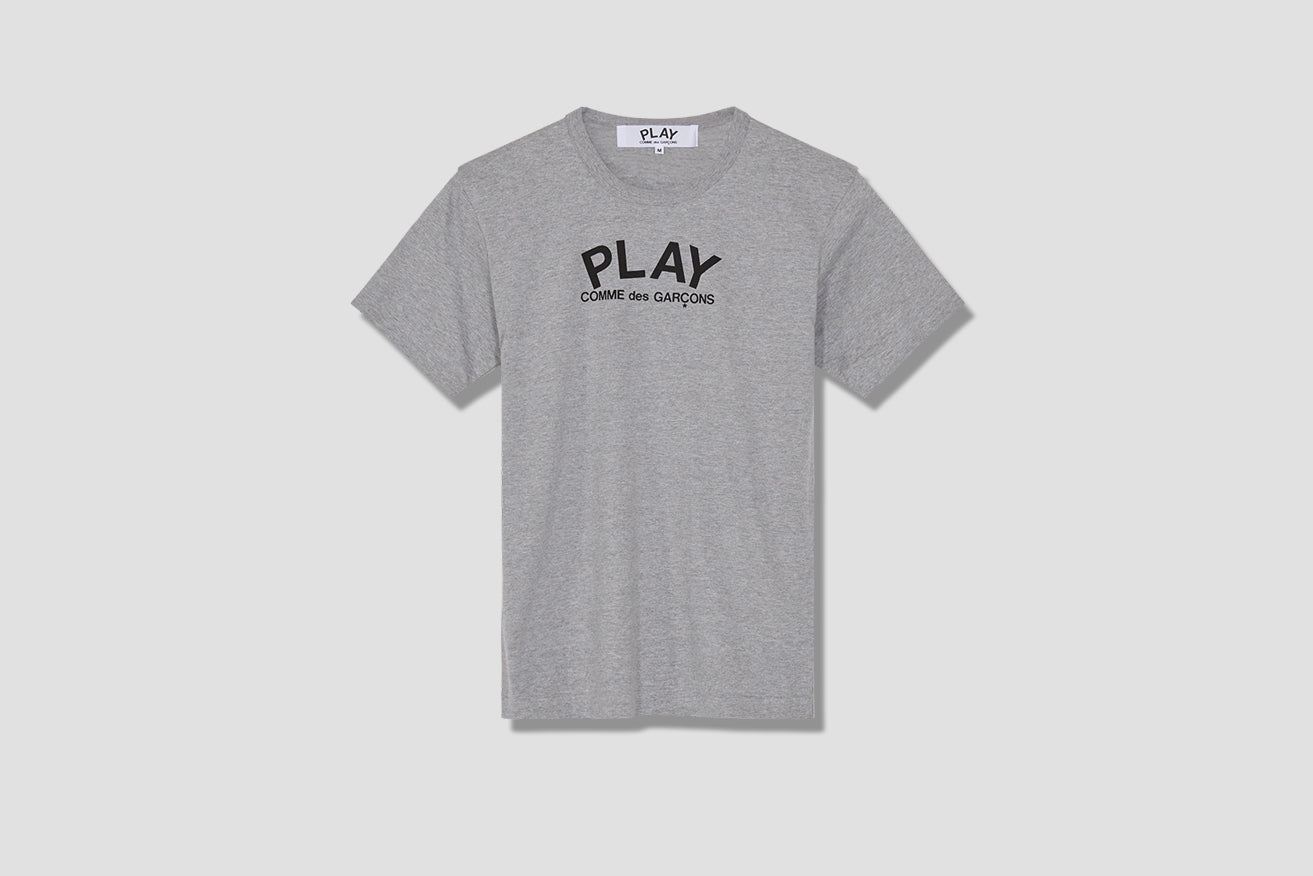 PLAY T-SHIRT PRINT P1T072 Grey