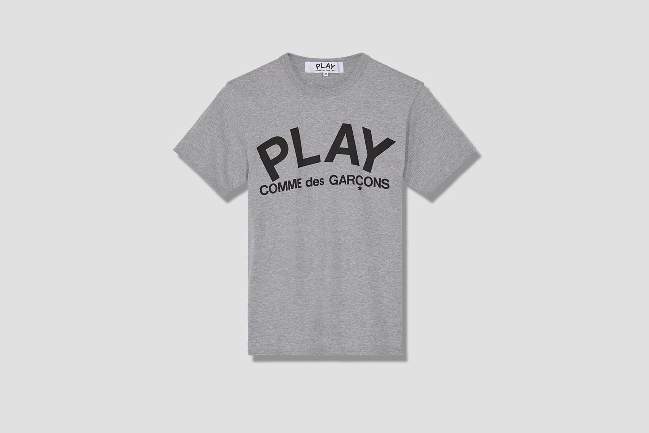 PLAY T-SHIRT PRINT P1T080 Grey