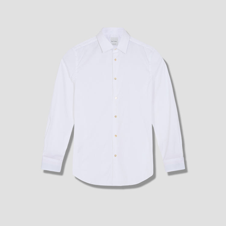 GENTS S/C TAILORED SHIRT M1R-800P-D00051 White