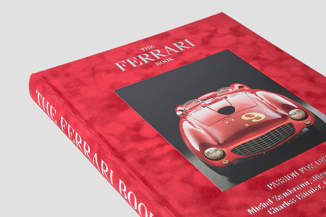 THE FERRARI BOOK PASSION FOR DESIGN TE1054