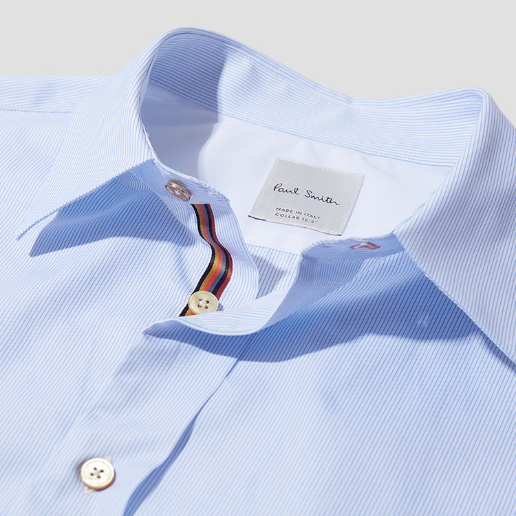 GENTS S/C TAILORED SHIRT 669T-A00944 Stripe