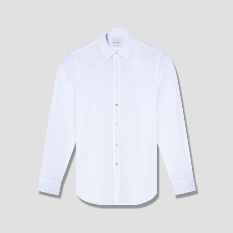 GENTS S/C TAILORED SHIRT M1R-669T-A00944 White