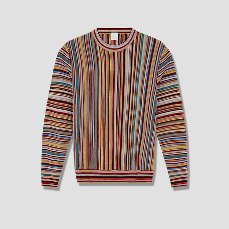 GENTS PULLOVER CREW NECK M1R-771T-A00953 Multi