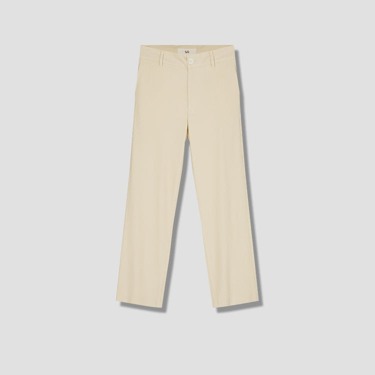 MIKE TROUSERS STRIPE Off white