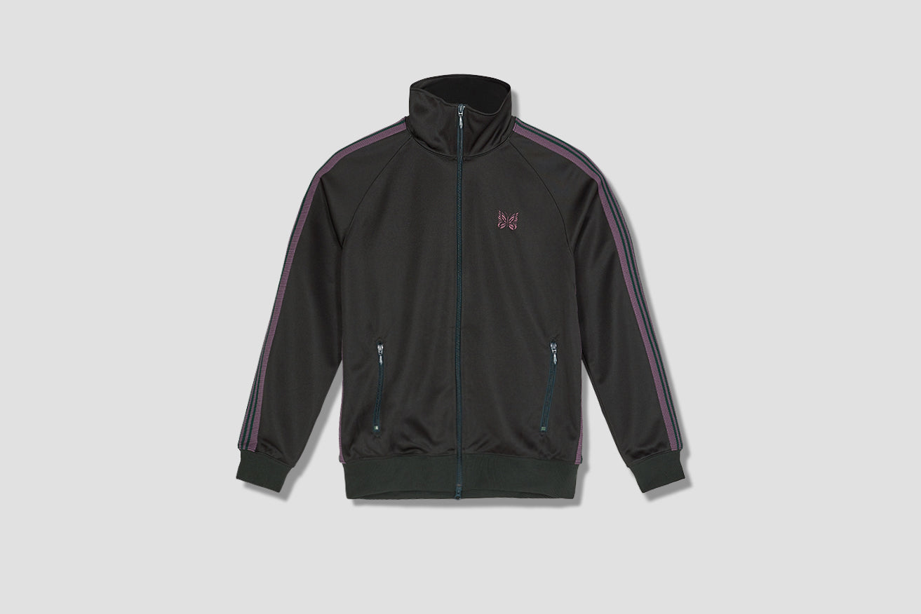 TRACK JACKET - POLY SMOOTH GL215B Green