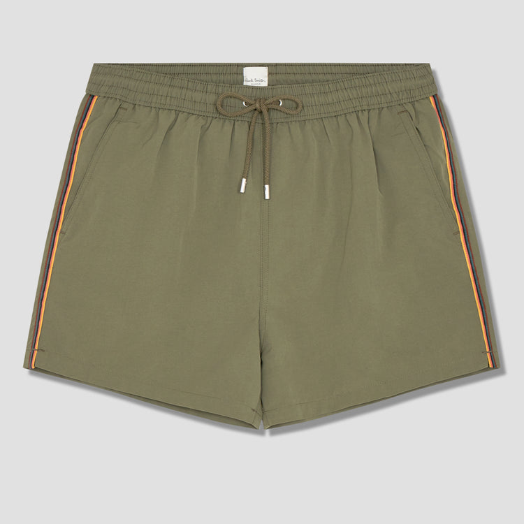MEN SHORT PLAIN STRIPE M1A-239CS-A40923 Khaki