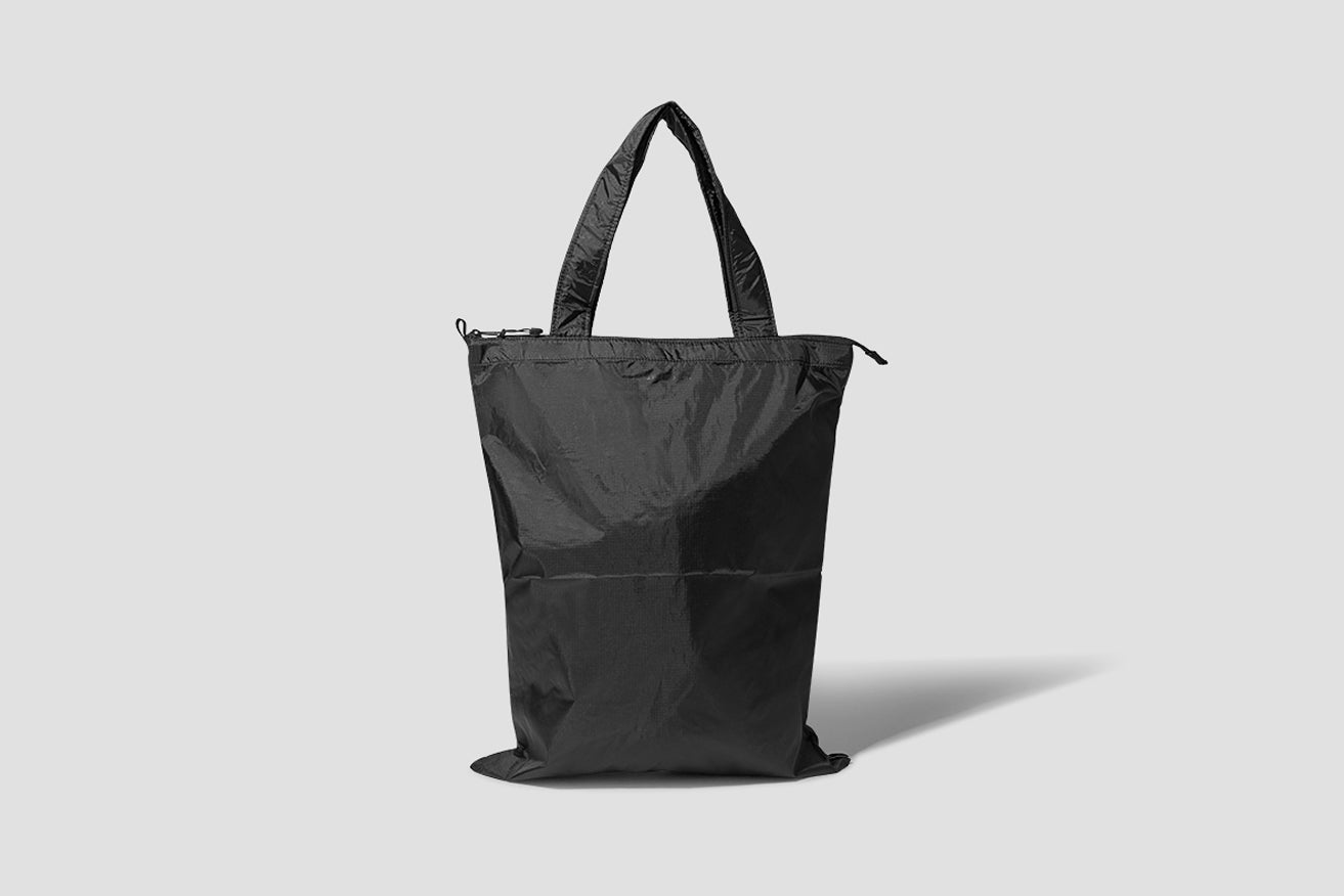PACKABLE TOTE N95-0776 Black