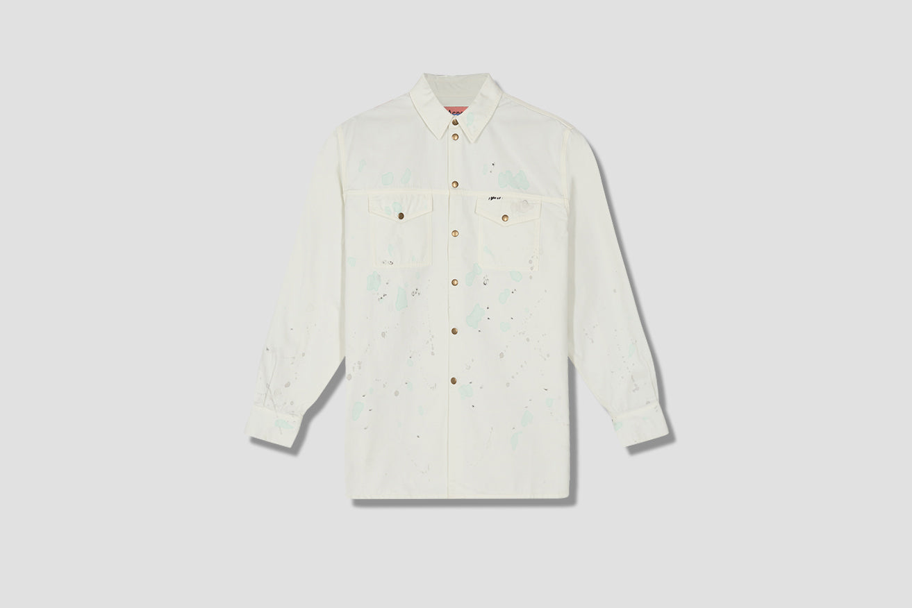 OVERSHIRT UNI PAINTER CB0012 Off white