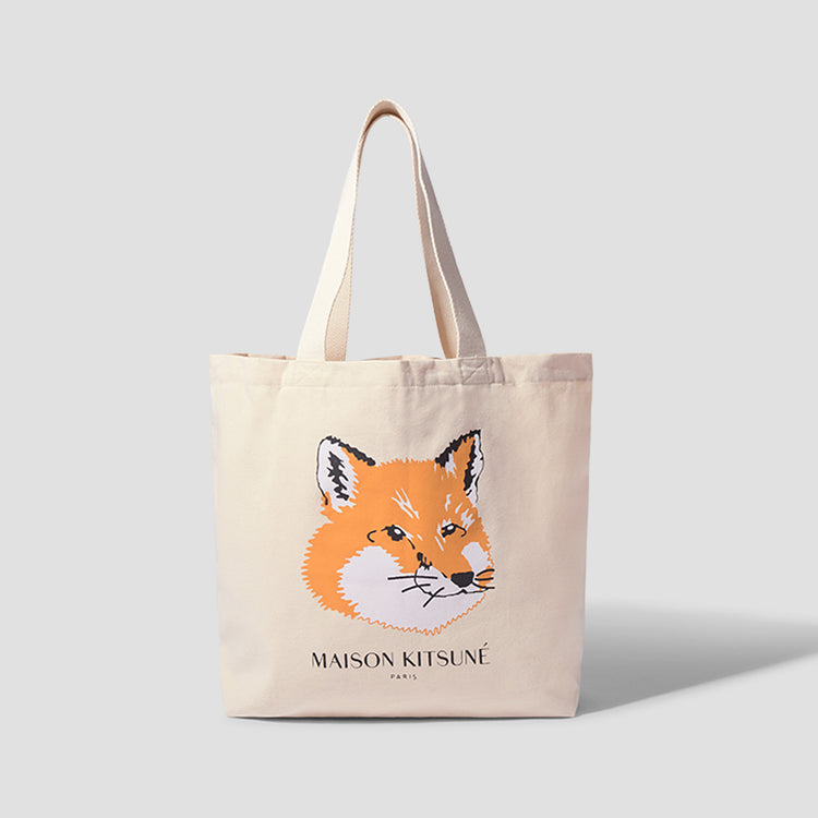 FOX HEAD TOTE BAG EU05110WW0008 Off white