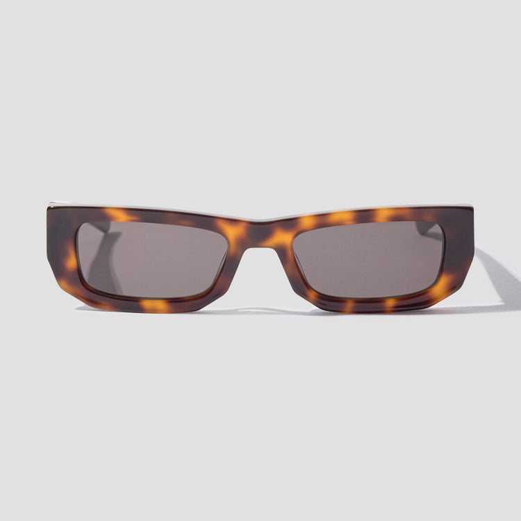 BRICKTOP - TORTOISE / SOLID BLACK LENSES 010 966 Brown