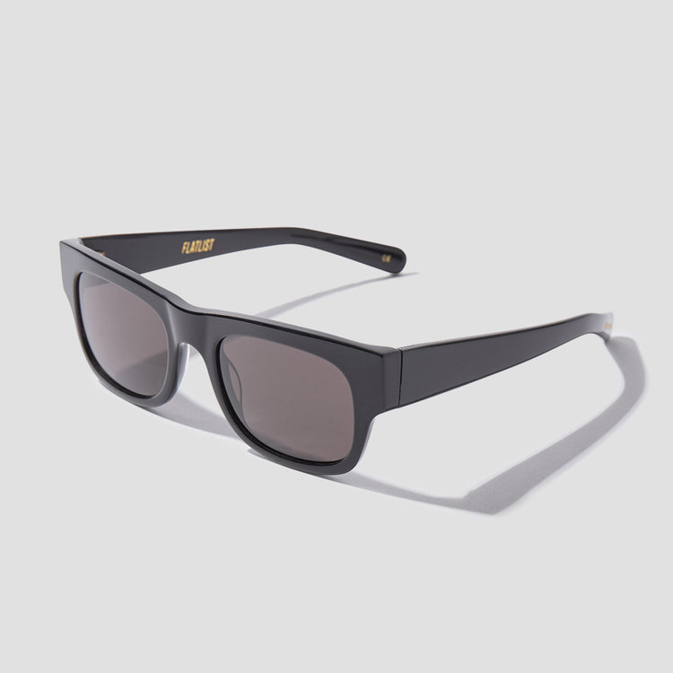 FLAT - SOLID BLACK / SOLID BLACK LENSES 007 001 Black