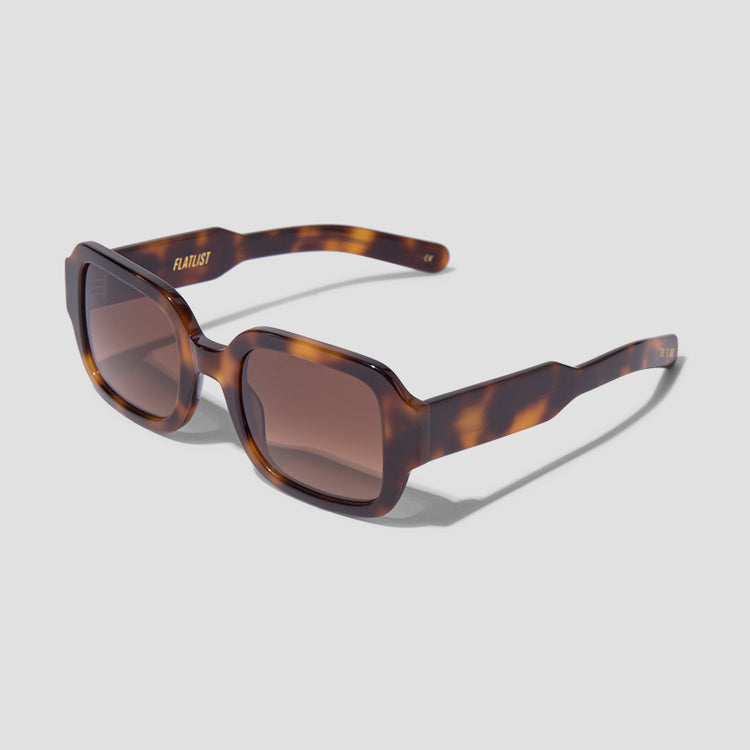 TISHKOFF - TORTOISE / BROWN GRADIENT LENSES 006 699 Brown