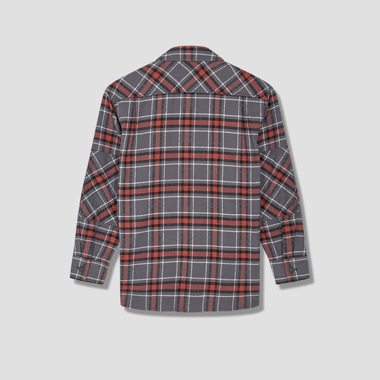 SALAK FLANNEL PC FACE CB0023 Grey