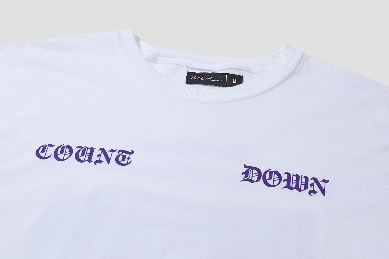 COUNTDOWN T-SHIRT COU/COT/WHI-SS20 White