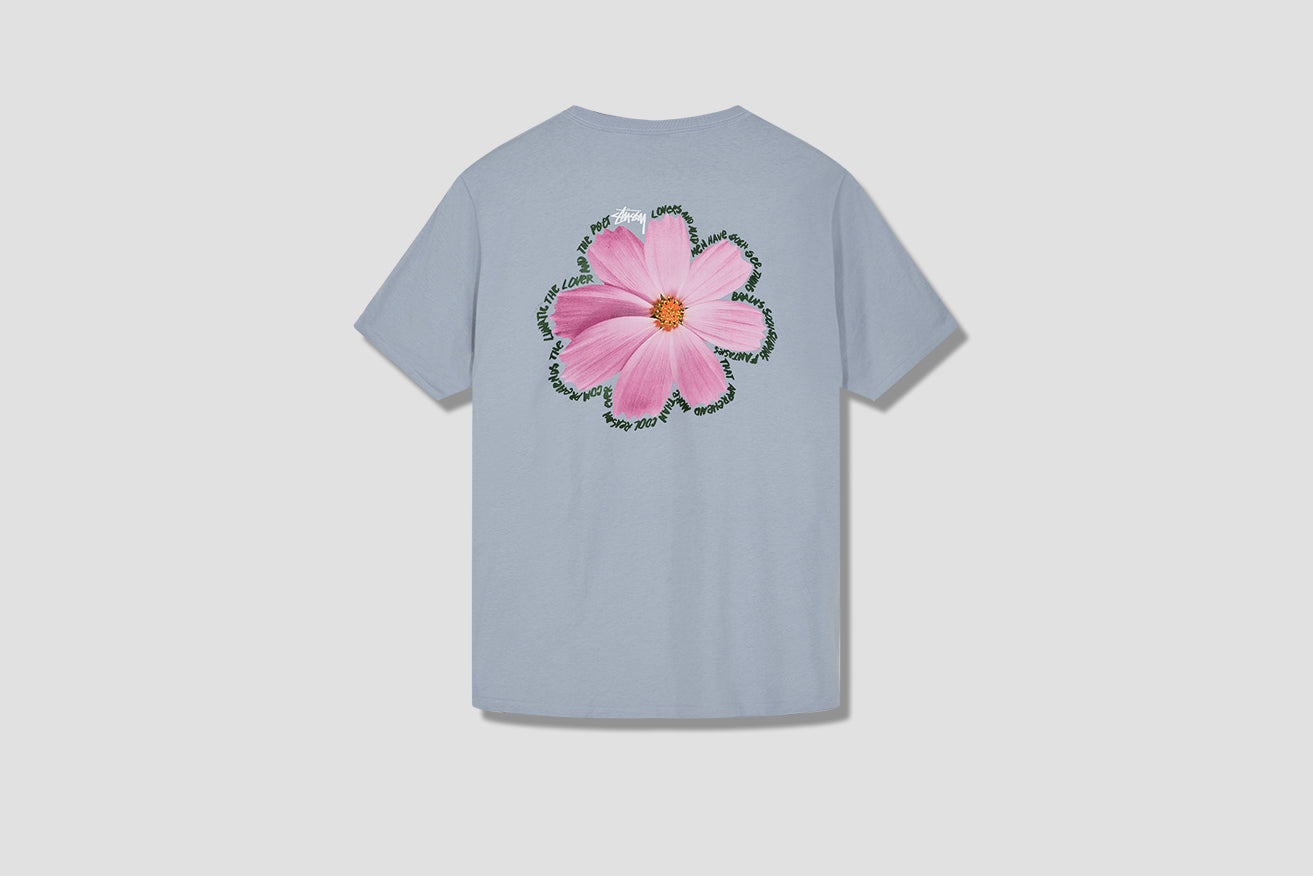 COSMOS TEE 1904539 Light blue
