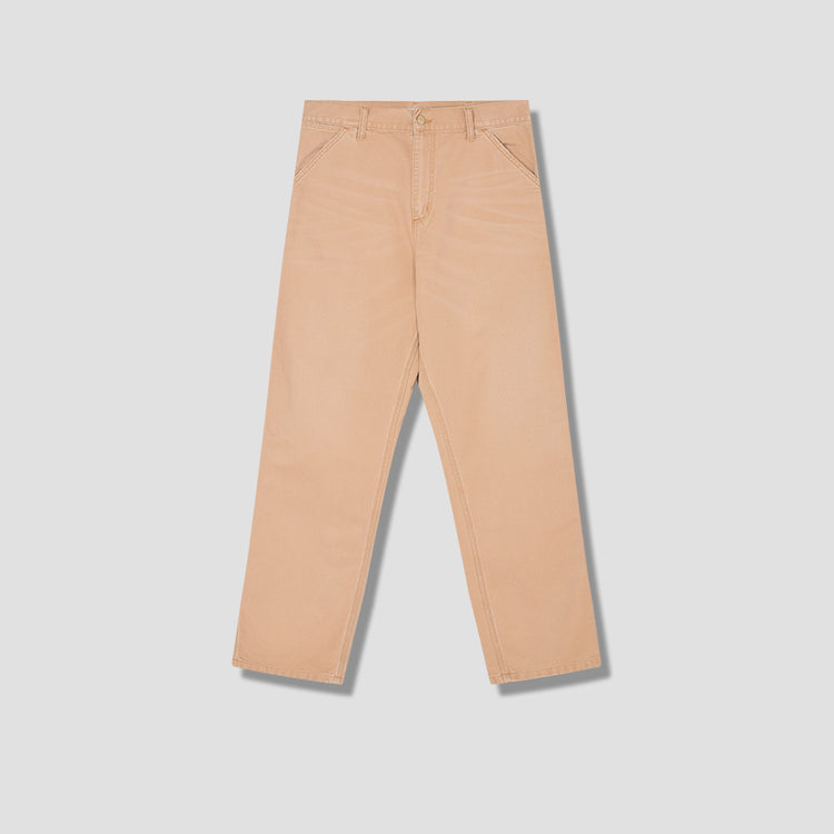 SINGLE KNEE PANT AGED CANVAS I026463 Brown
