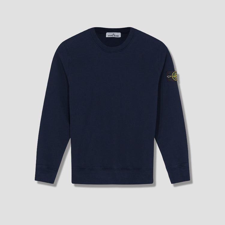 BRUSHED COTTON FLEECE GARMENT DYED 731563020 Navy