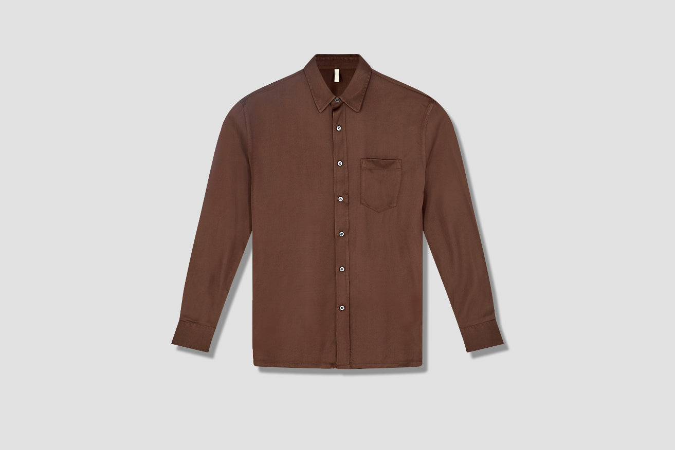 TYPE SHIRT 1024 Brown