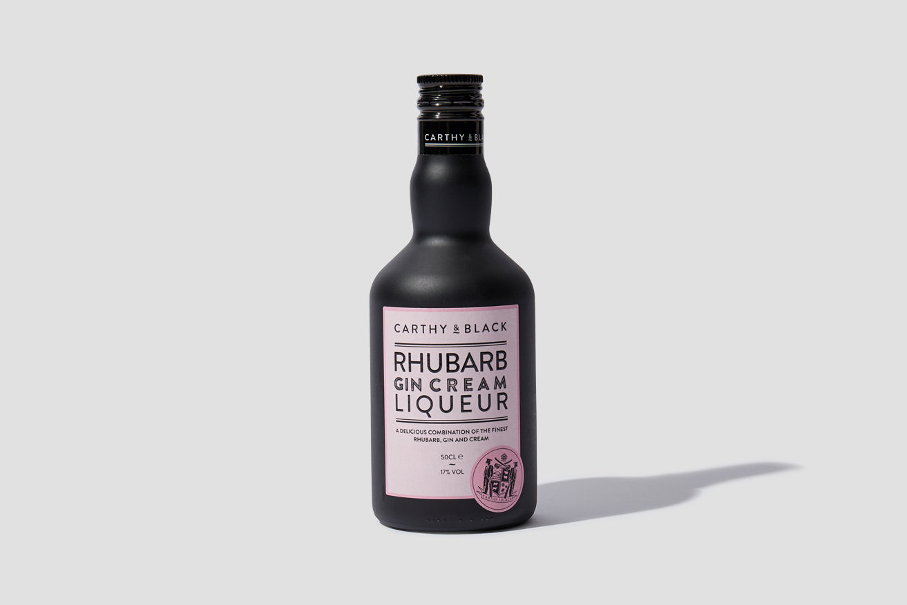 RHUBARB GIN CREAM LIQUEUR 17% 500 ML.