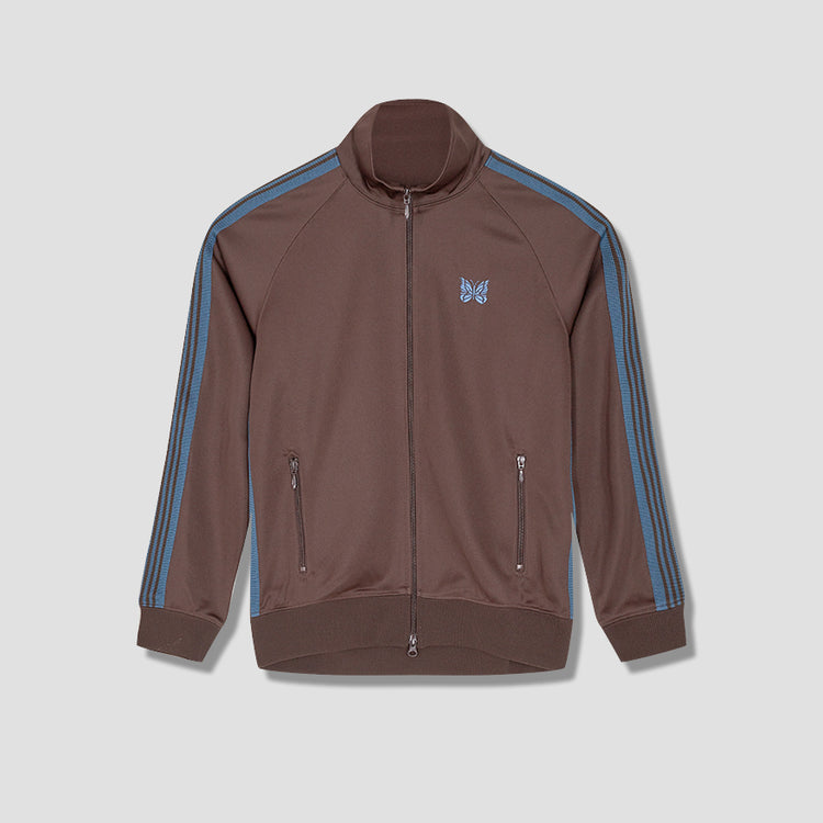 TRACK JACKET - POLY SMOOTH HM225 Brown