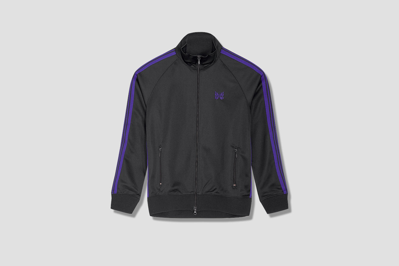 TRACK JACKET - POLY SMOOTH HM225 Charcoal