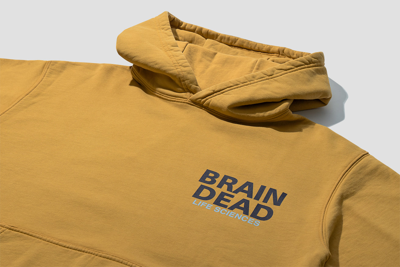 BREAK THROUGH LONG SLEEVE HOODED SWEATSHIRT BDF20T09001358YL01 Yellow