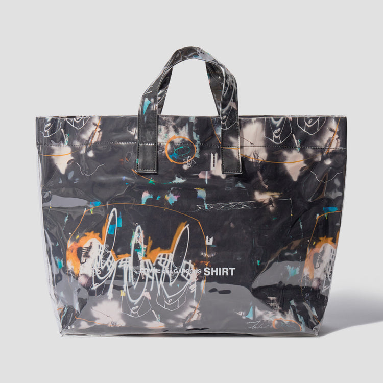 TOTE BAG WITH FUTURA PRINT - PRINT A W28610 Black