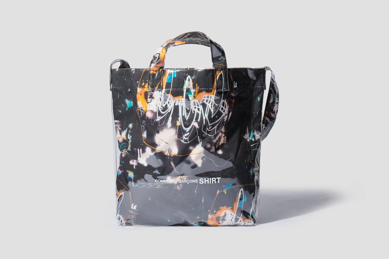 TOTE BAG WITH FUTURA PRINT - PRINT A W28611 Black