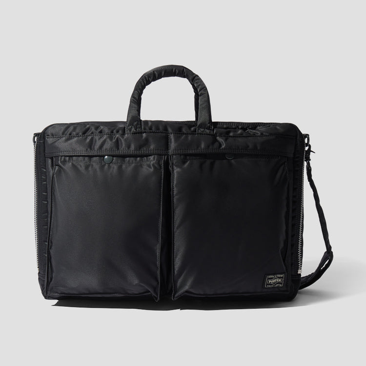 TANKER 2WAY BRIEFCASE 622-67544 Black