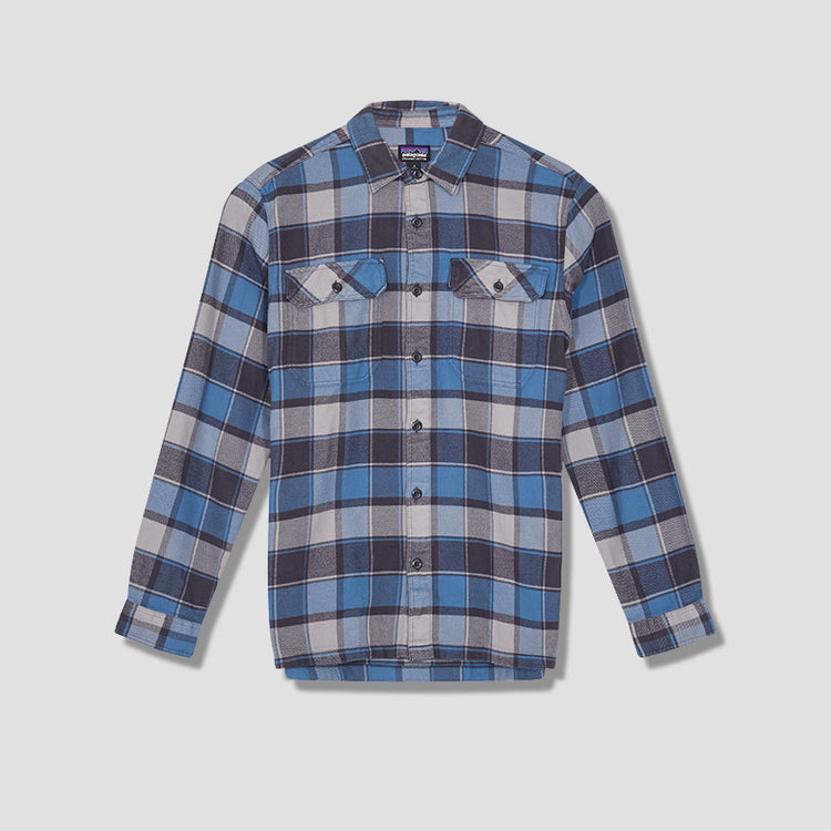 LONG-SLEEVED FJORD FLANNEL SHIRT 53947 Blue