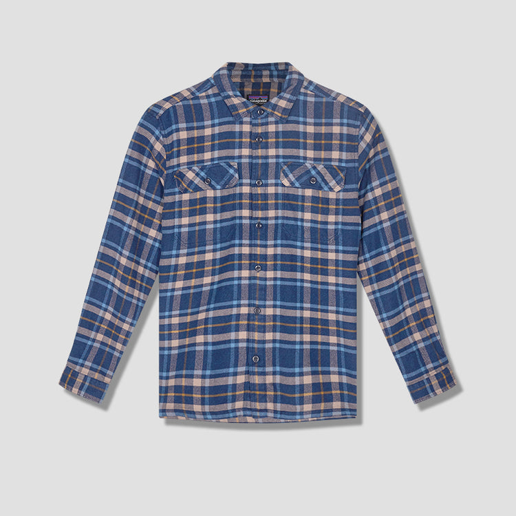 LONG-SLEEVED FJORD FLANNEL SHIRT 53947 Navy