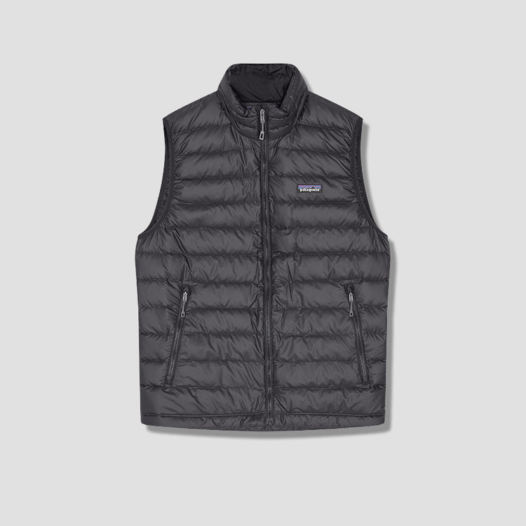 DOWN SWEATER VEST 84622 Black