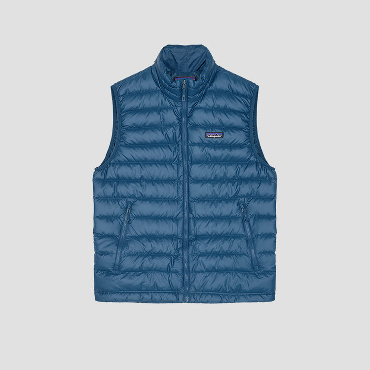 DOWN SWEATER VEST 84622 Blue