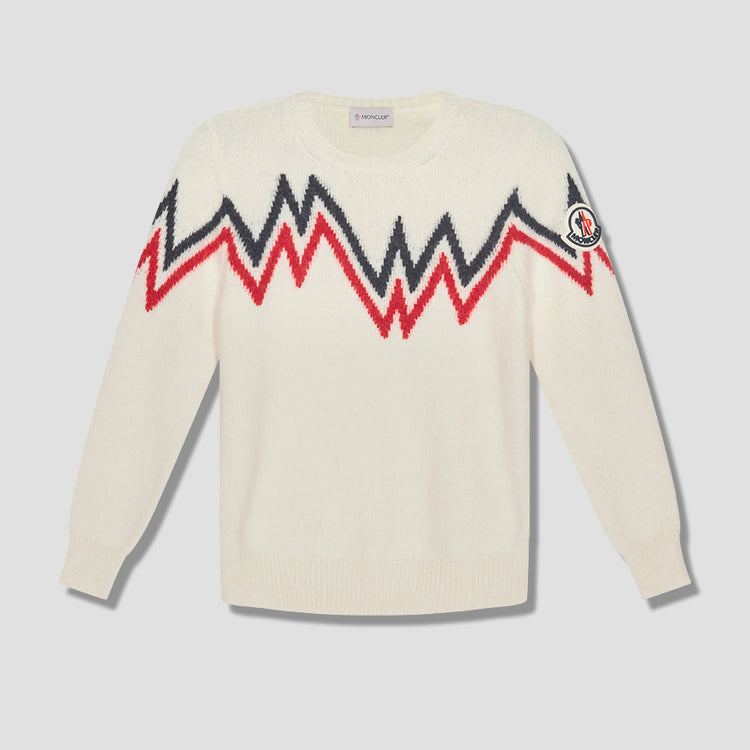CREW NECK 091-9C750-00-A9498 Off white