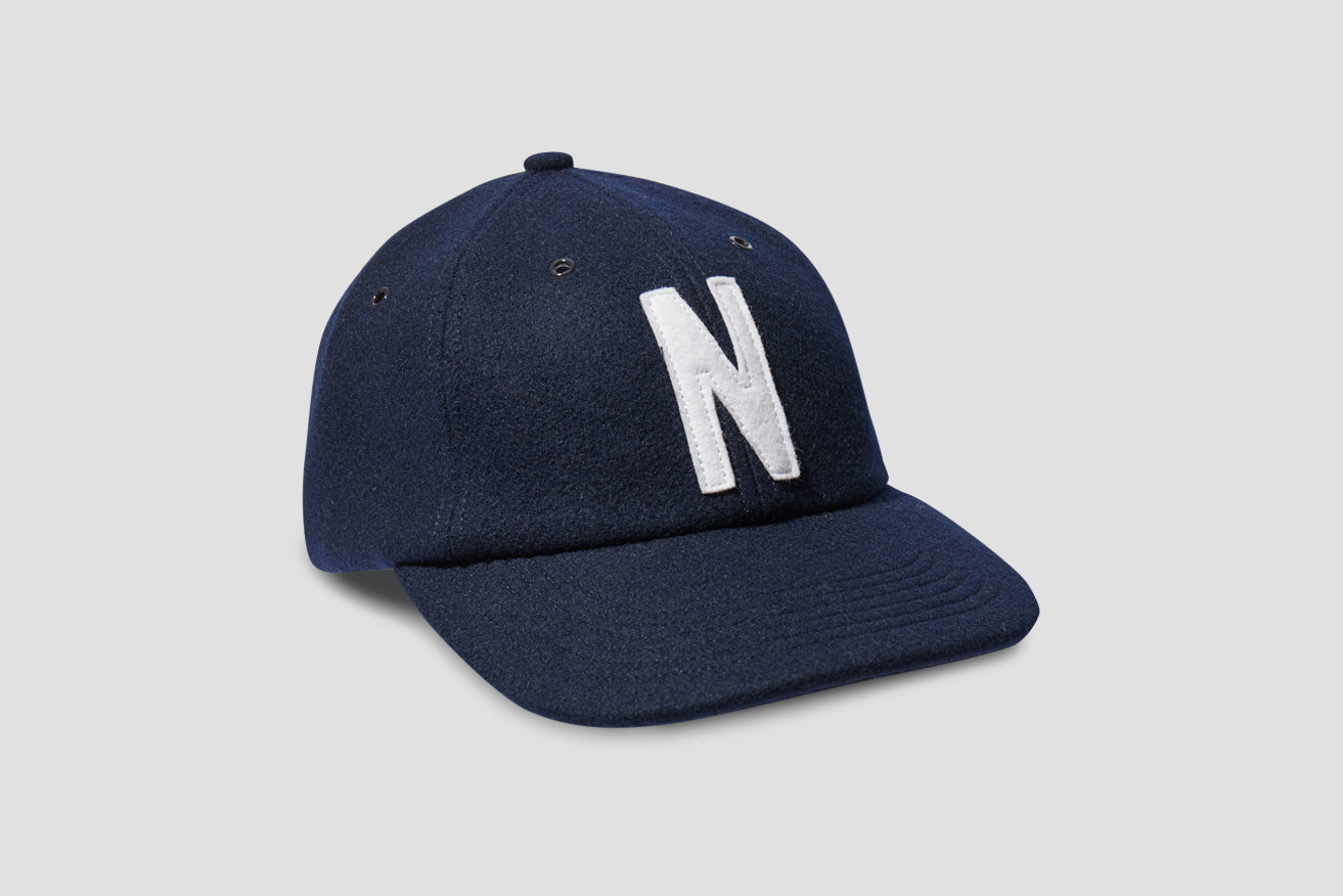 WOOL SPORTS CAP N80-0038 Navy