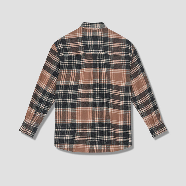 ABOVE SHIRT - BROWN PLAID M4202ABP Brown