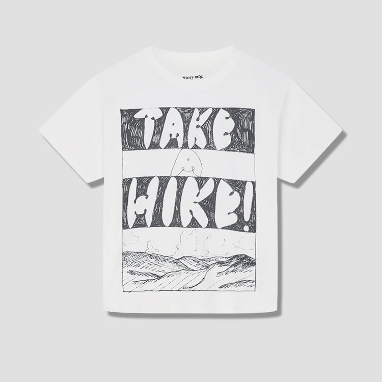 GRATEFUL TEE SS - TAKE A HIKE GRATEFUL-TEE-SS-TAH White